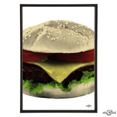 Diner Burger Frame