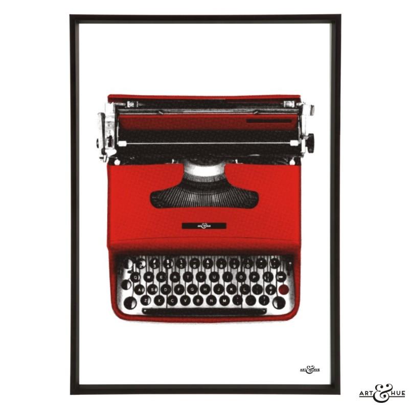Midmod Typewriter Frame