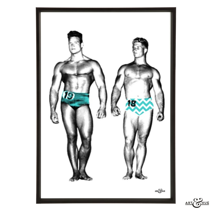 Muscle Pageant Pair 1 Frame
