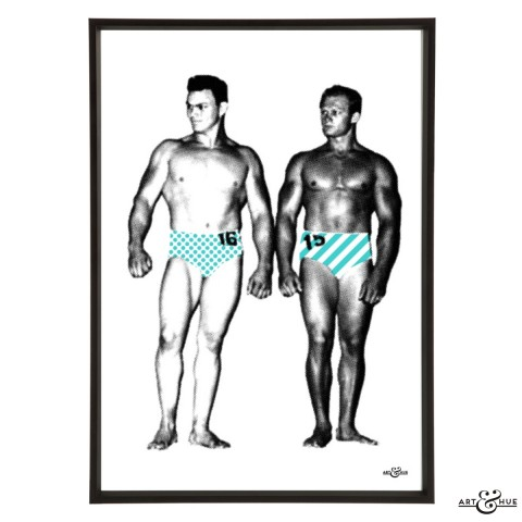 Muscle Pageant Pair 2 Frame