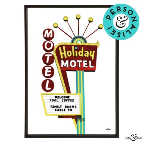 Motel Holiday Frame