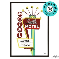 Motel Holiday Smith Frame