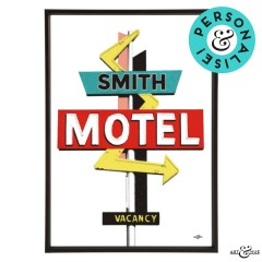 Motel Rancho Smith Frame
