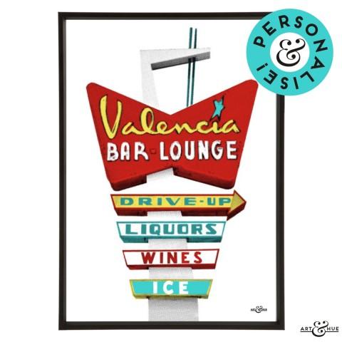 Motel Valencia Frame