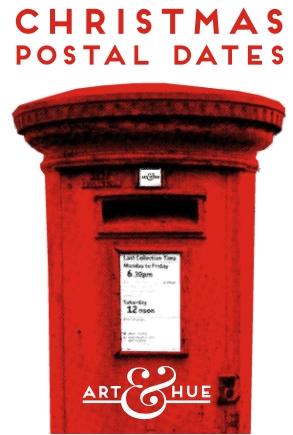 Xmas postal dates sidebar