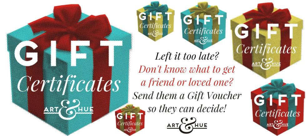 Pop Art Gift Certificates