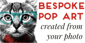 Bespoke Pop Art by Art & Hue