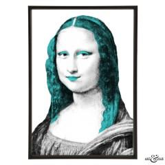 Museum Mona Lisa aqua