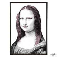 Museum Mona Lisa lilac