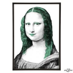 Museum Mona Lisa verdigris