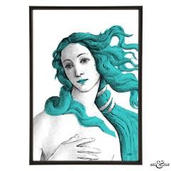 Museum Venus Botticelli aqua