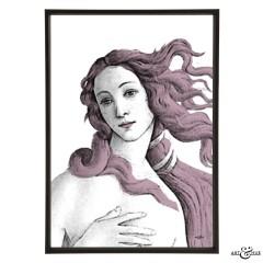 Museum Venus Botticelli lilac