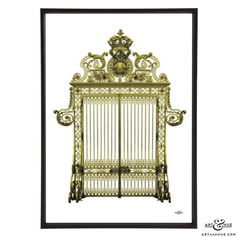 Versailles Gates pop art print by Art & Hue