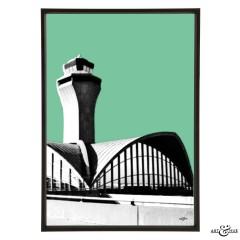 JetSet Airport Lambert Frame
