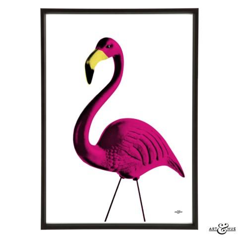 Kitsch Garden Flamingo Frame