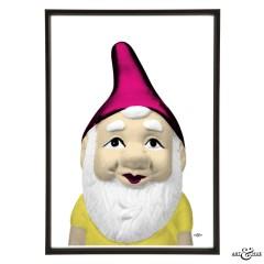 Kitsch Garden Gnome Frame