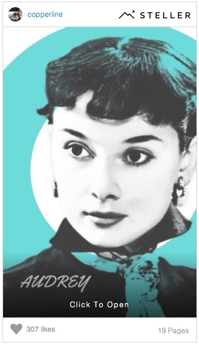 Audrey Hepburn Story by Copperline on Steller