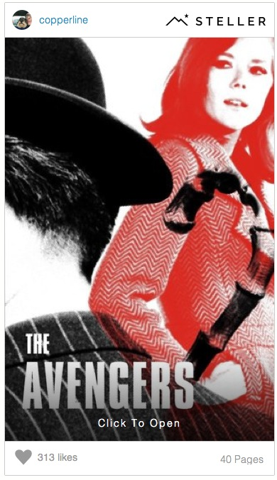 The Avengers Steller Story by Copperline