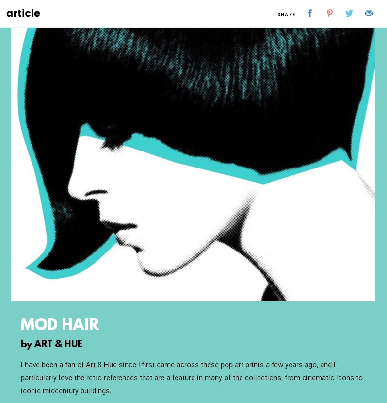 Copperline at Article App Mod Hair
