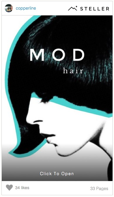 Mod Hair Steller Story by Copperline