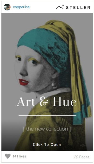 Art & Hue on Steller by Copperline