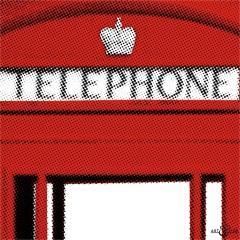 London Phone Box Closer