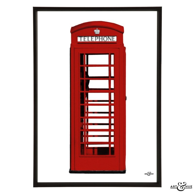 London Phone Box Frame