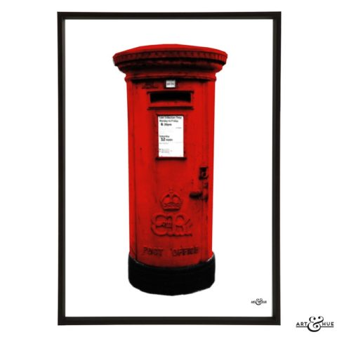 London Pillar Box Frame