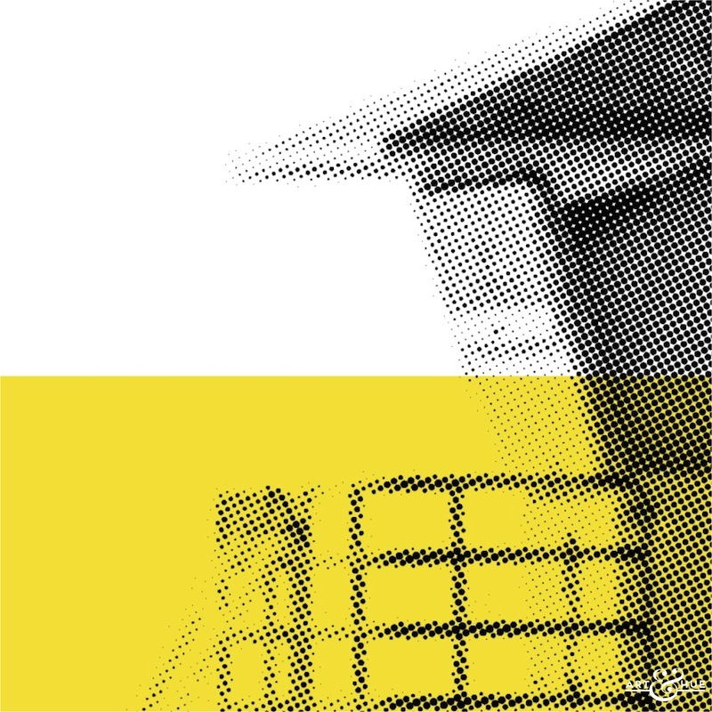 Minimal Beach Lifeguard Station Hut Graphic Pop Art