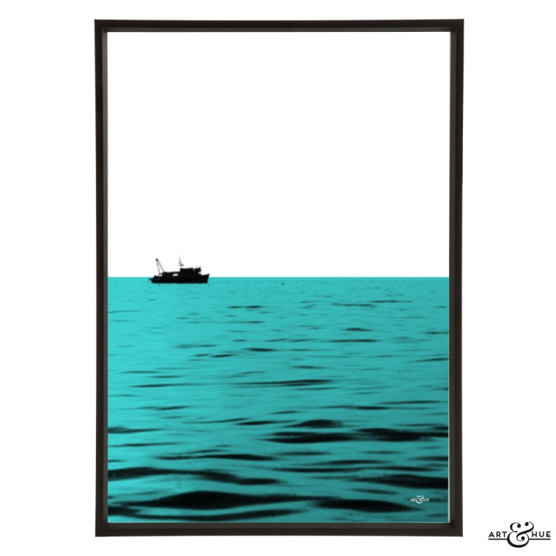 Minimal Beach Ocean Frame