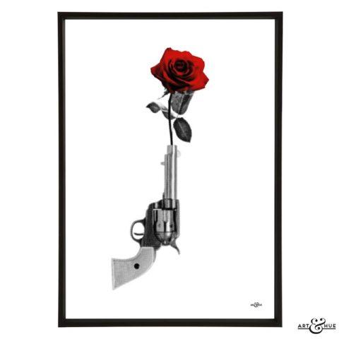 The Avengers Gun & Rose