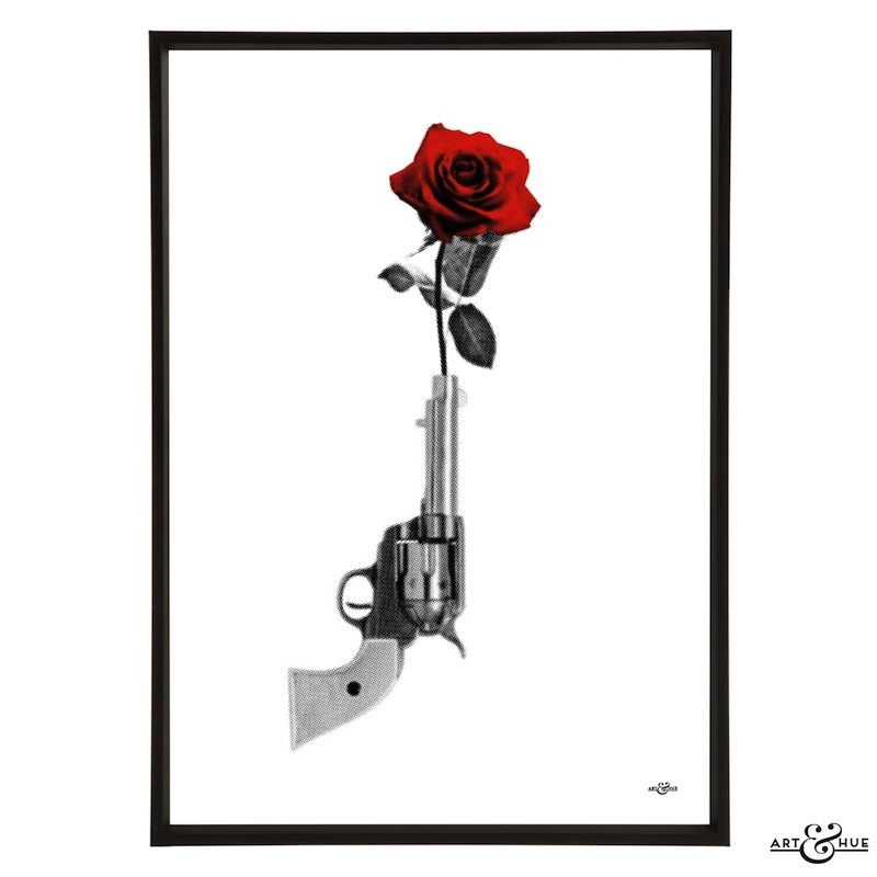 The Avengers Gun & Rose