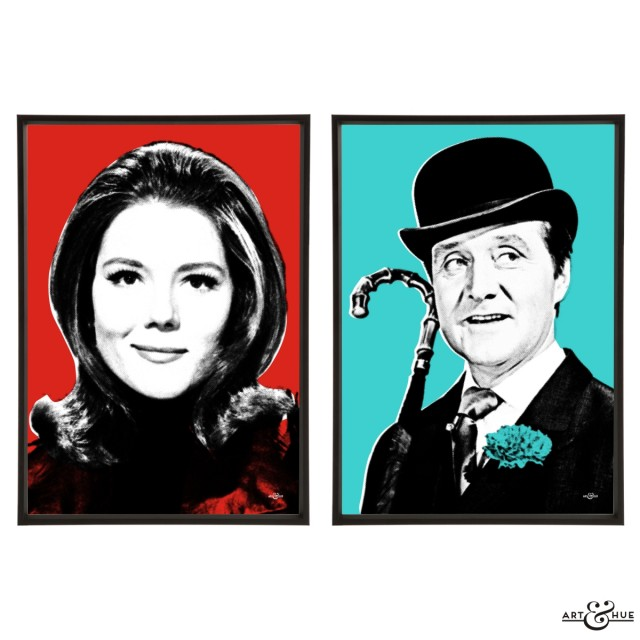 Steed & Peel Pair