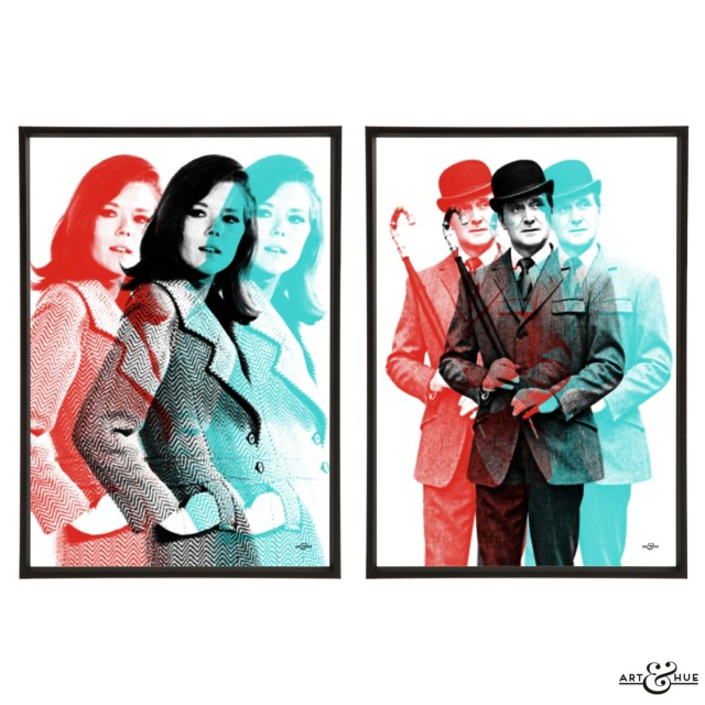 Triple Pop Art Pair