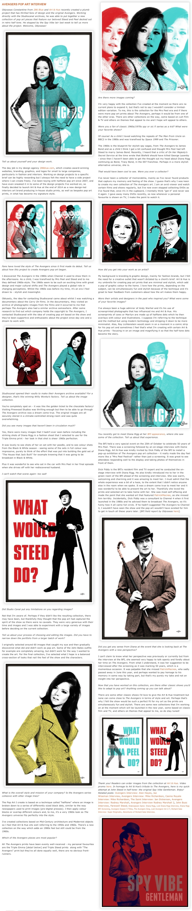Spy Vibe Interview