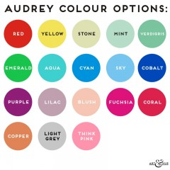 Audrey Colour Options