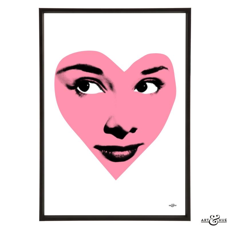 Audrey Hepburn Popart Poster A2 SIZE