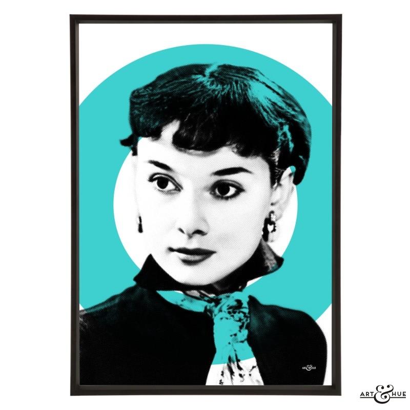 Audrey Modern Aqua