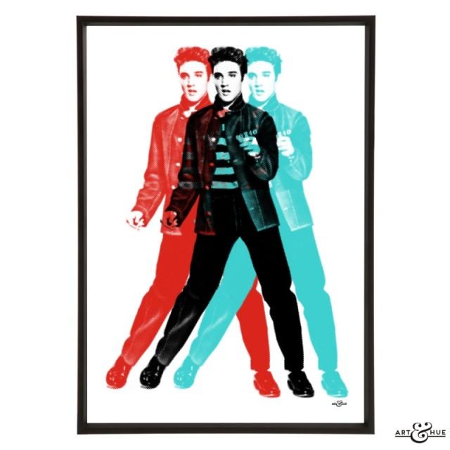 Elvis Presley Roll Frame