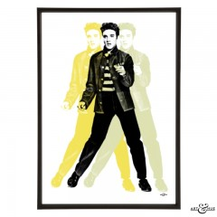 Elvis Presley Roll Frame Tonal Yellows