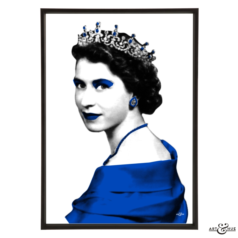 Queen-Frame-Cobalt