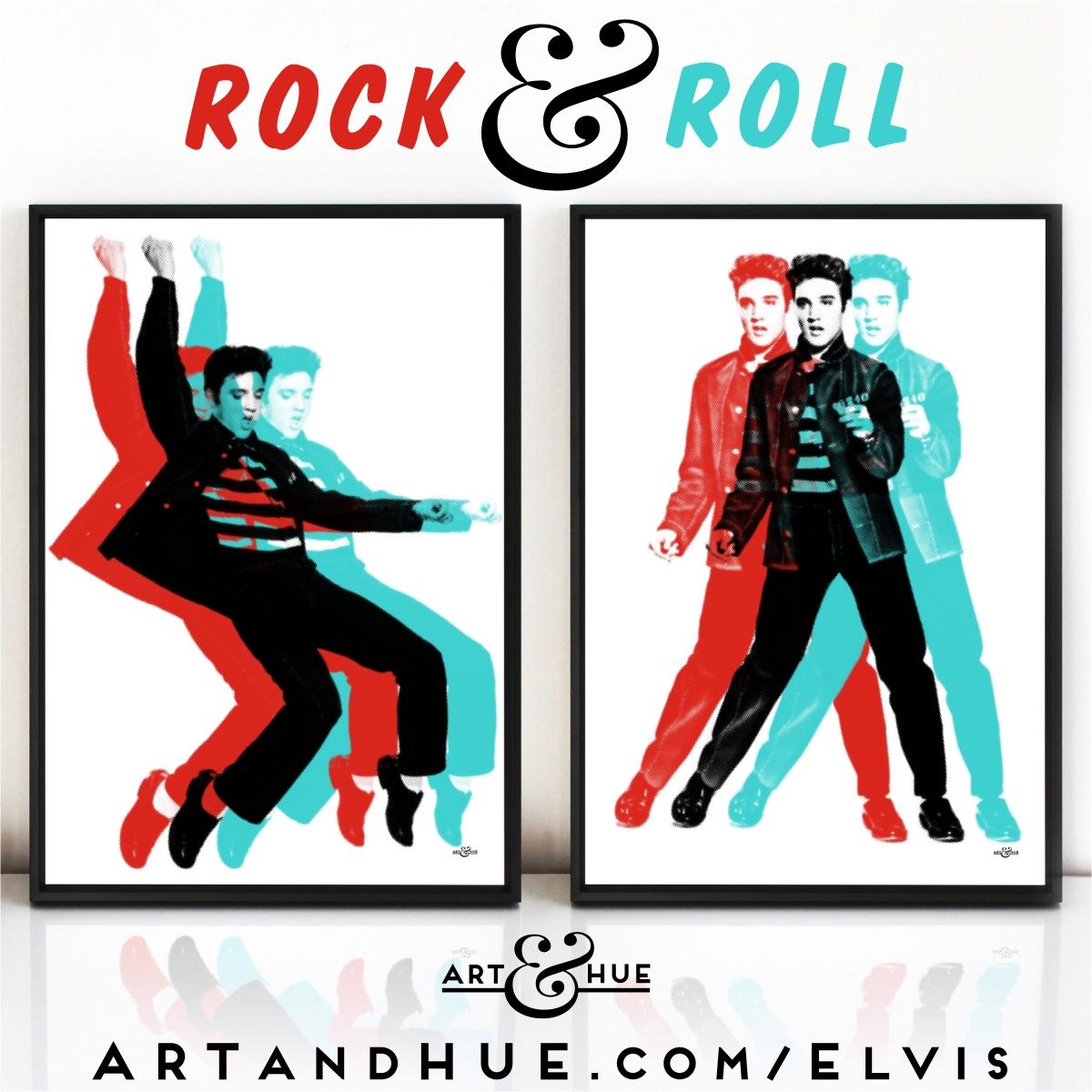 Rock & Roll Pop Art