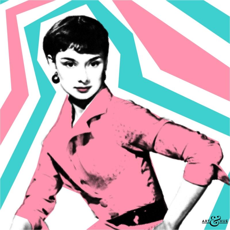Audrey Style Pop Art by Art & Hue - Audrey Hepburn | Art & Hue