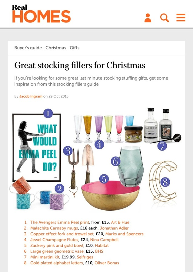 Great stocking fillers for Christmas - Real Homes