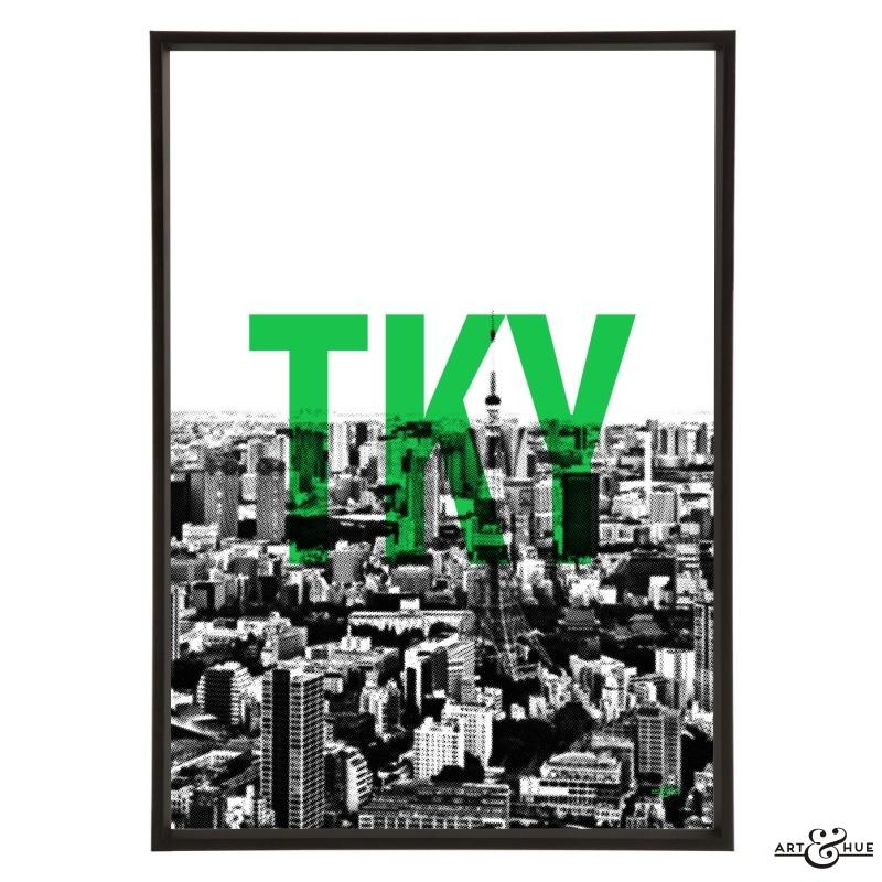 TKY Tokyo City Skyline