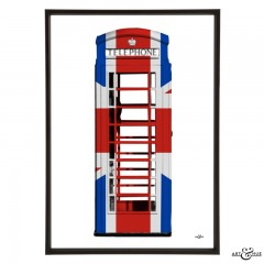 Union Jack Phone Box