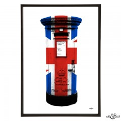 Union Jack Post Box