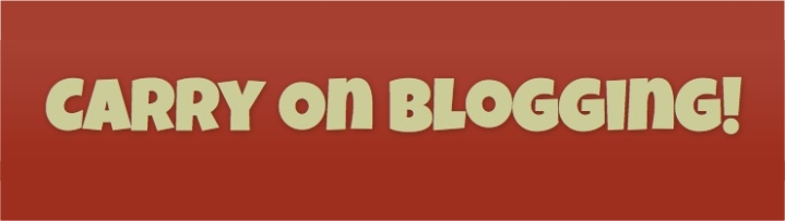 Carry On Blogging Website
