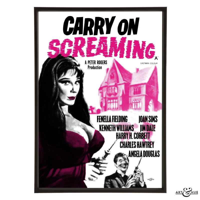 Carry On Screaming - Stylish Pop Art - Bespoke & Custom