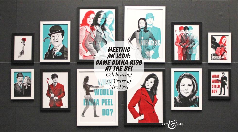 Diana Rigg at the BFI - Meeting Mrs Peel